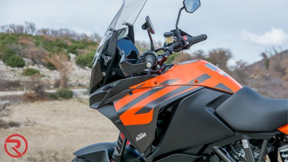 KTM SuperAdventure 1290 elektronika